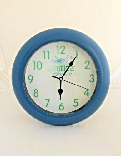 Apothecary Pharmacy Drugstore Promo Amitiza Battery Wall Clock