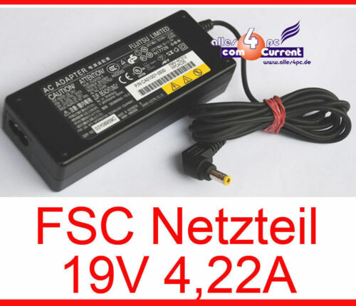 19V 4,22A fsc Power Supply for Medion MIM2240 Lifebook T4010 S8010 S8020 #N18