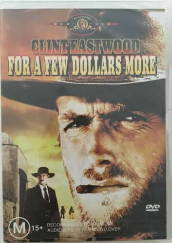 For a Few Dollars More. Brand new & sealed DVD. Region 4 PAL. Free postage!
