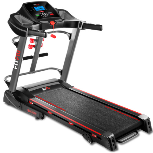 Tapis de course pliable magnetique FITFIU 2000w 20km/h USB, LCD, frequence