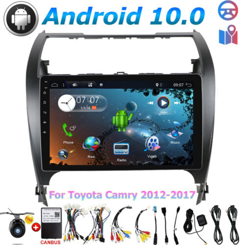 "For TOYOTA CAMRY 2012-2017 Android 9.0 Car DVD Navigation Head Unit Stereo 8""DAB"