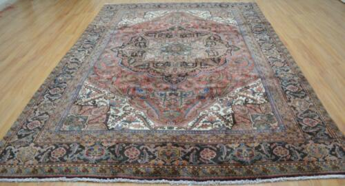 7'10 x 11'3 Durable Superb Geometric Hand Knotted Wool Area Rug 8 x 11 Carpet