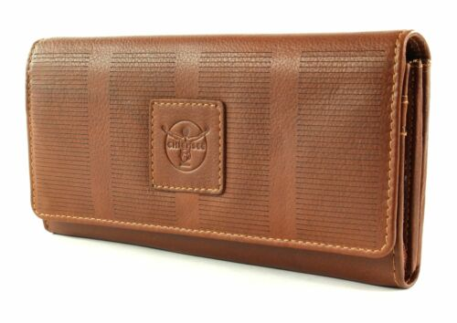 CHIEMSEE borsa Wallet with Flap Haiti Wallet with Flap Cognac
