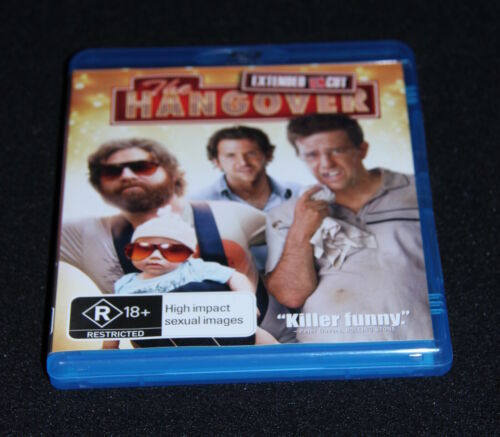 Blu-Ray disc - The Hangover - Extended Uncut version starring Bradley Cooper