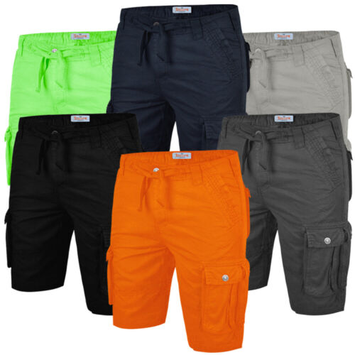 Stallion Men's Cargo Combat Shorts Summer Casual Cotton New Work Half Pants <br/> FREE SHIPPING 1ST 20 BUYERS