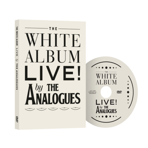 The Analogues Perfom The Beatles - The White Album live DVD <br/> The Beatles, The Analogues
