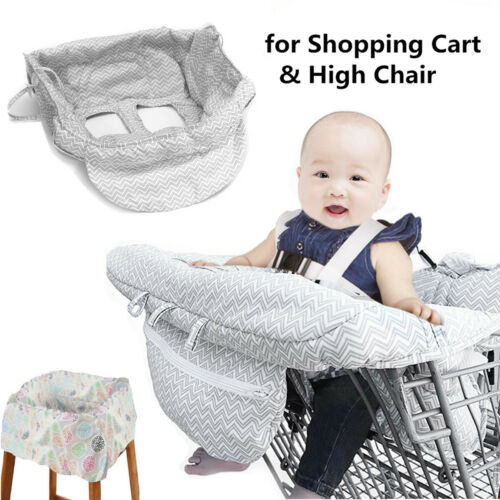 Baby Shopping Trolley Cover Protector Mat Child Kid Cart Seat Cushion Pad Soft