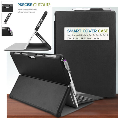 CASE For Microsoft Surface Pro 6/5/4/ Pro 2017 Compatible Type Cover Keyboard B