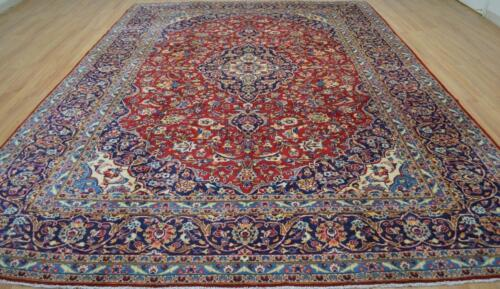 9'4 x 13'1 Superb Hand Knotted Fine Kork Wool Area Rug Handmade Oriental Carpet