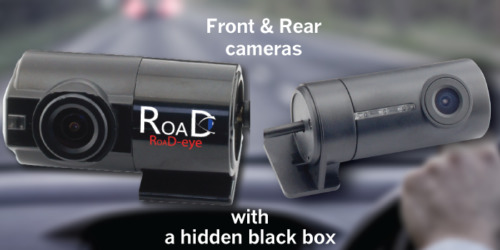 Dashcam RoaD-eye RE350 'The Stealth'