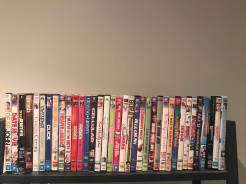Assorted Pre-Owned DVDs Movie Bulk Listing