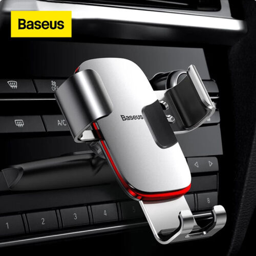 Baseus Gravity Car Phone Holder CD Slot Air Vent Mount for iPhone 11 Samsung LG