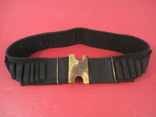 Span-Am US Army Mills Single Row 45 rd Cartridge Belt 45-70 w/Pattern 1890 PlateOriginal Period Items - 10952