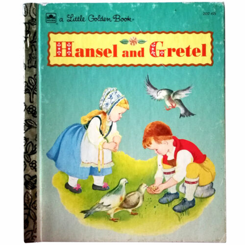 HANSEL AND GRETEL – A Vintage Little Golden Book