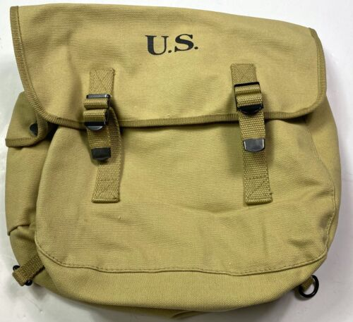 WWII US AIRBORNE PARATROOPER M1936 M36 MUSETTE JUMP BAG-KHAKIUnited States - 156437
