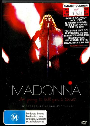 Madonna Dvd/Cd/booklet set - I'm Going To Tell You A Secret