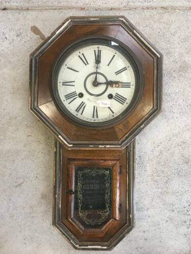 Japanese antique wall clock