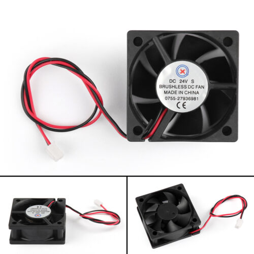10Pcs DC Brushless Cool PC Computer Fan 24V 5020s 50x50x20mm 2 Pin Wire 50MM AU