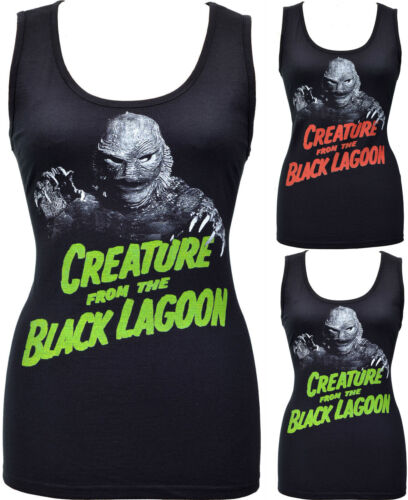 Womens HORROR Tank Top Creature from the Black Lagoon B-Movie Monster Vintage