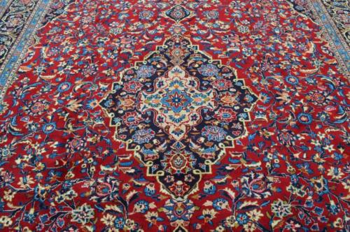 10'1 x 13'3 High KPSI Azerbaijani Hand Knotted Wool Area Rug Oriental Carpet