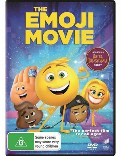The Emoji Movie DVD Region 4 NEW+SEALED
