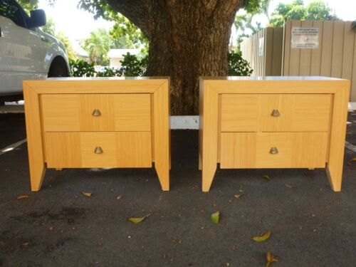 PAIR OF 1970'S DAKOTA JACKSON FOR LANE FURNITURE NIGHTSTANDS