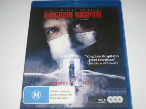 KINGDOM HOSPITAL the complete series BLU-RAY RB NEW/SEALED