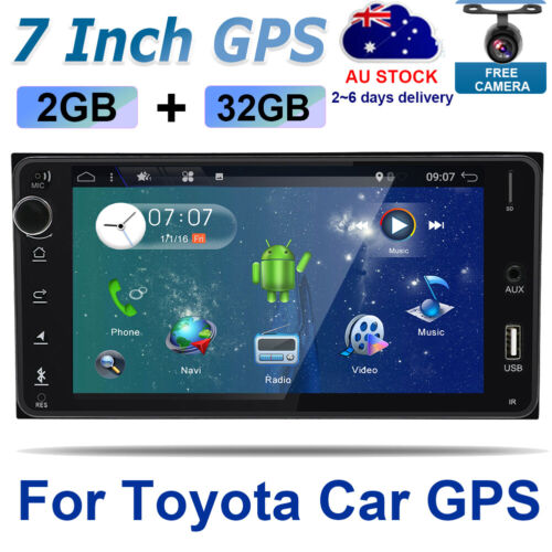 Car Stereo For Toyota Corolla Hilux Land Cruiser Android 10 GPS Headunit USB DAB