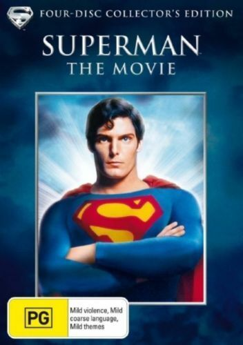 Superman The Movie DVD (4-Disc Collector's Edition) - NEW+SEALED