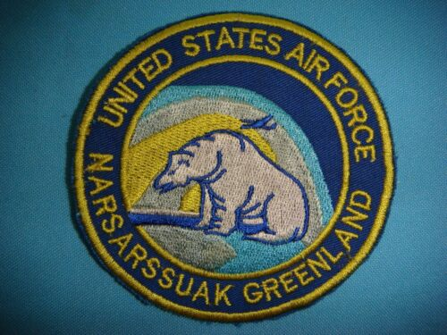 PATCH US AIR FORCE NASARSSUAKE  IN GREENLANDAir Force - 66528