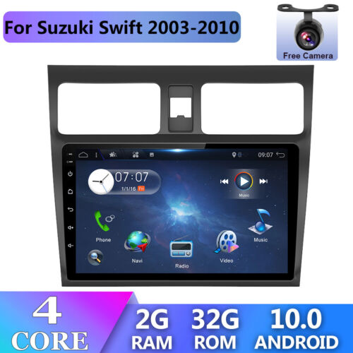 Car Stereo For Suzuki Swift Android 10.0 Navi Dash GPS Head Unit Player MP5 WIFI