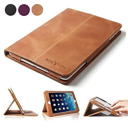 For ipad 5th/6th Air 2/Air 1 pro 9.7 Folio Case Soft Leather Case Smart Cover