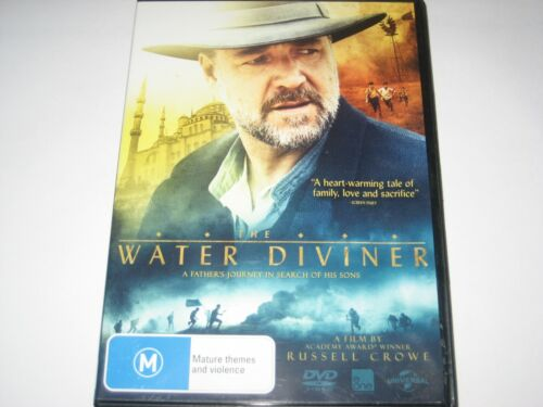 THE WATER DIVINER DVD R4 NEW