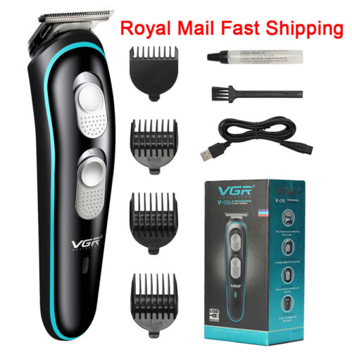 Professional Hair Clippers Mens Electric Trimmers Cutting Cordless Beard Shaver <br/> 【eBay Money Back Guarantee 】【RM 48H ARRIVAL】