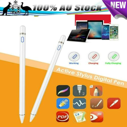 Capacitive Active Stylus Touch Screen Pen Pencil For Apple IPad Android Huawei