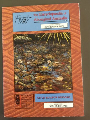 THE ENCYCLOPEDIA OF ABORIGINAL AUSTRALIA CD-Rom David Horton Music Language Art