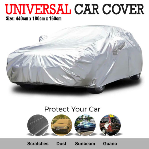 Universal Size Car Cover Waterproof Rain/UV/Dust Resistant Weather Proof L AU