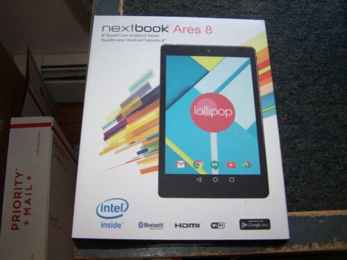 Nextbook Ares 8 16GB, Wi-Fi, 8in - Black -Open Box