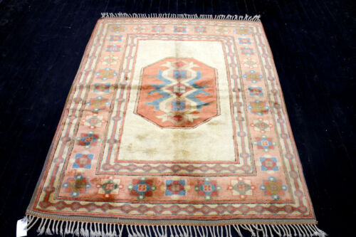 6X5 EXQUISITE MINT NEW HAND KNOTTED %100 WOOL PASTEL HERIZZ SOLTANHA TURKISH RUG