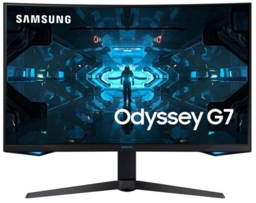 """SAMSUNG LC32G75TQSEXXY, 32"""" Odyssey G7 QLED Curved Serious Gaming Monitor 240Hz"""