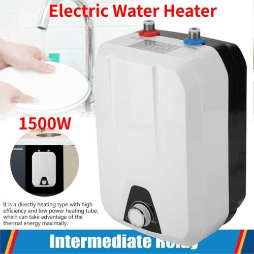 8L 1500W instant Electric Water Heater Shower Hot Water System kitchenTap Faucet