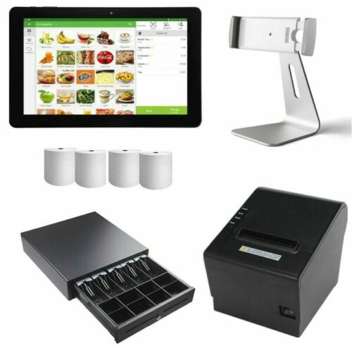 Loyverse Bluetooth POS All in one Bundles with Bluetooth Printer, Tablet, till