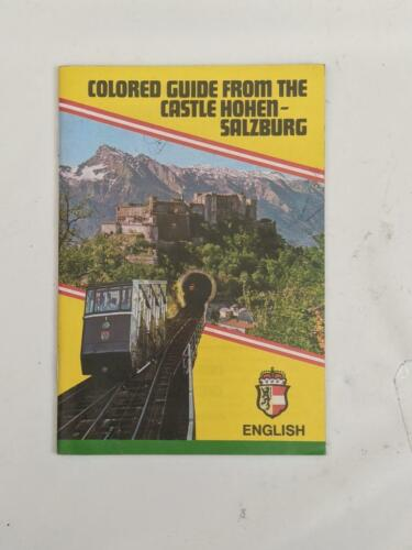 Colored Guide From the Castle Hohen-Salsburg  1980's