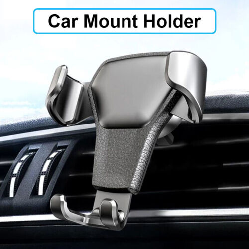 Universal Gravity Car Air Vent Mount Cradle Holder Stand For Mobile Phone GPS