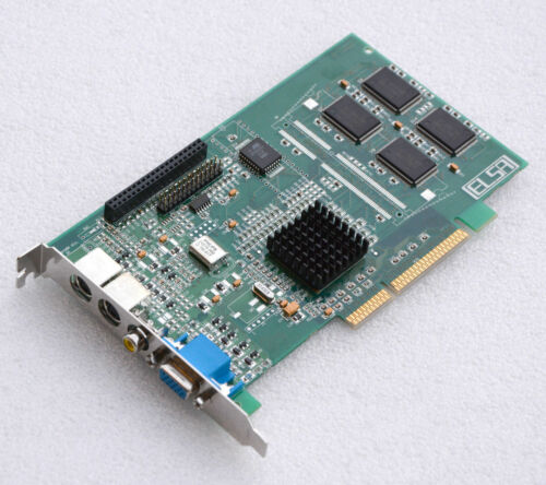 Graphic Card ELSA Winner 2000 Office A8 3DLabs PERMEDIA2 S-VIDEO Input Output