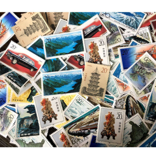 1pc Fashion Stamp Collection Old Value Lots China World Stamps Random Style