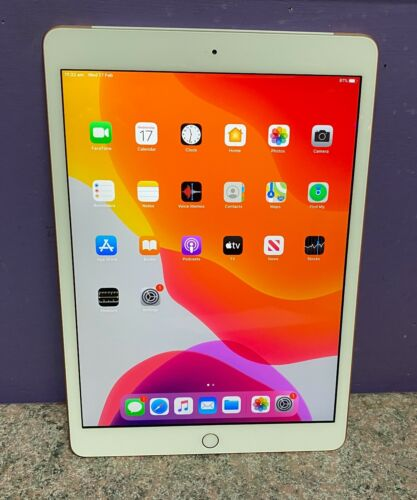 Apple Ipad 7th Gen 32GB Wifi & 4G A2198 Unlocked Working
