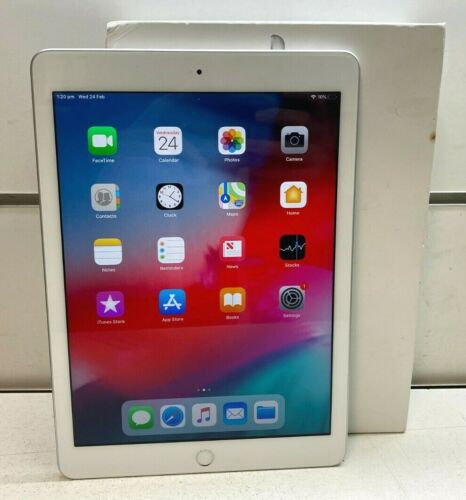 Apple iPad 6th Generation MR7G2X/A A1893 32Gb Wi-Fi Tablet + Box & Charger