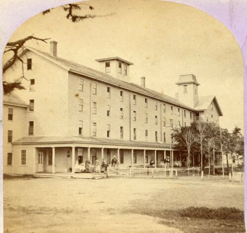 Old Orchard MAINE: Large Beach Hotel 1870s BF Cole (Biddeford) C368