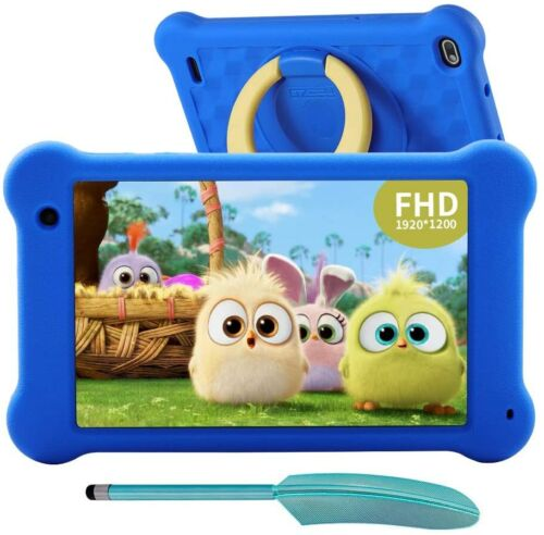 Kids Tablet 7 inch Android 10 Tablet PC 2GB RAM 32GB ROM, FHD 1920x1200 IPS Scre